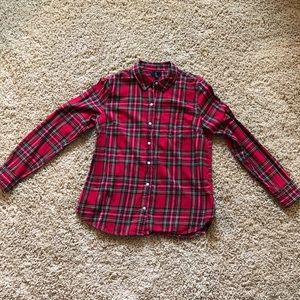 Gap long-sleeve flannel